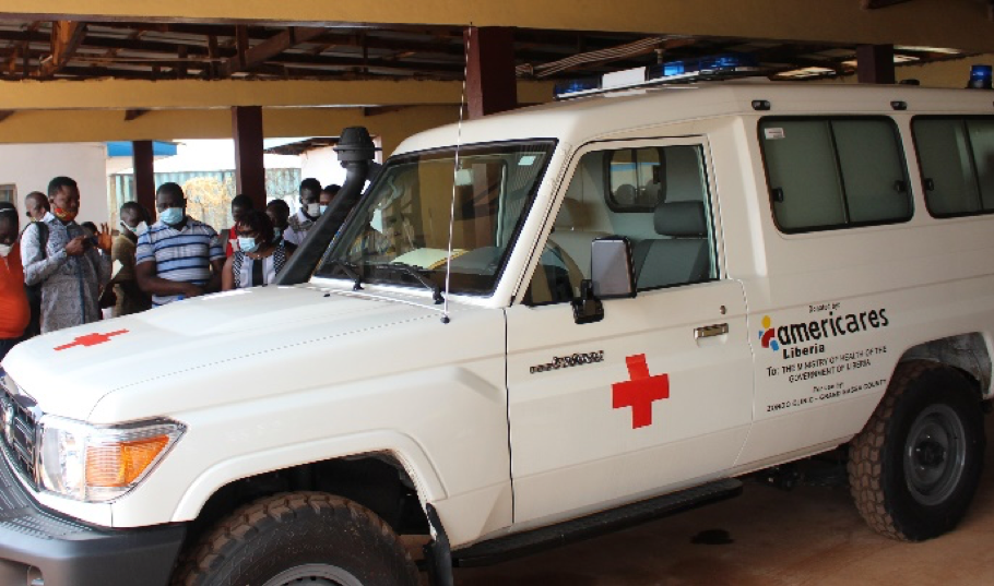 Liberia: Americares Constructs Incinerator, Ambulance to Grand Bassa Government Hospital